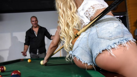 Brazzers Two Balls in the Corner Pocket