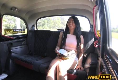 FakeTaxi Sexy Thai with pierced pussy lips