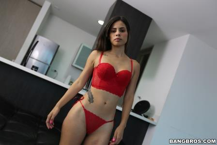 Bangbros Valery Gomez First Time In Front Of The Camera