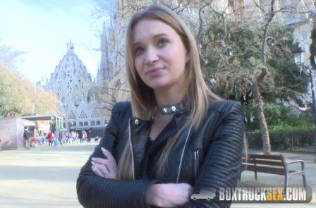 BoxTruckSex Angel Piaff Enjoys Rebound Sex in Public