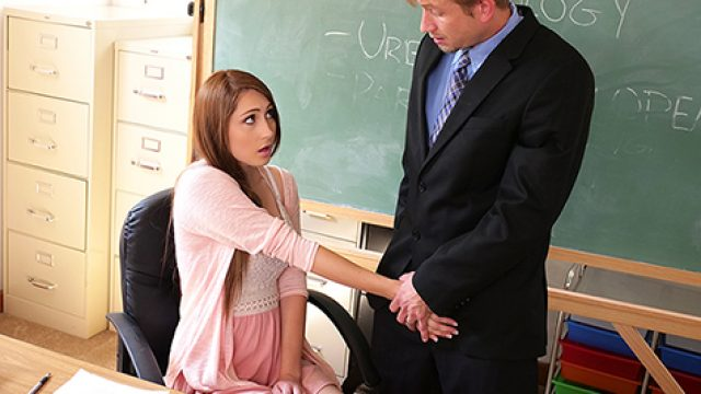 SpyFam School Teacher Stepdaughter Seduces Stepdad Principal