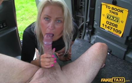 FakeTaxi Blondes tight holes fucked in cab