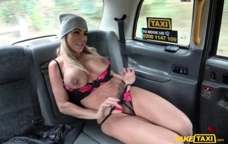 Fake Taxi Mature busty MILF empties big balls