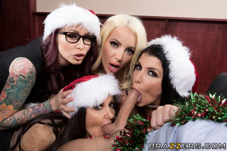 Brazzers Office 4 Play Christmas Bonuses