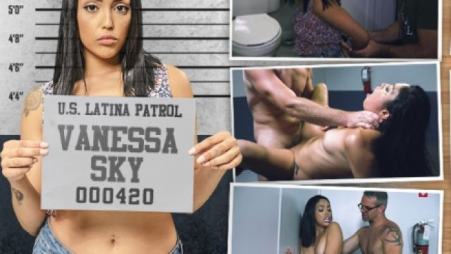 Latina Patrol Vanessa Sky