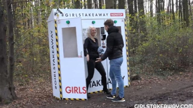 Girls Take Away Luci Angel fucked in the woods