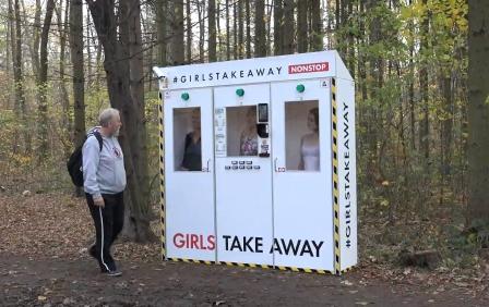 Girls Take Away Old man found Ela Nek instead of a mushroom