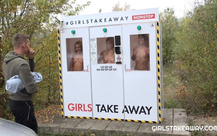 Girls Take Away Sexy Claudia Macc fucking outdoors