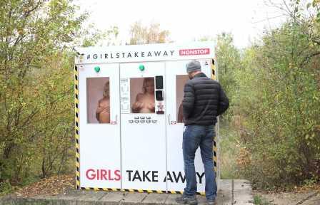 Girls Take Away Victoria Pure inside The machine