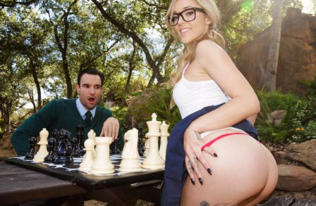 Teen Loves Huge Cocks Checkmating With Kali Roses
