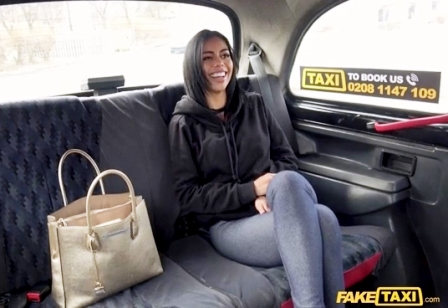 FakeTaxi Bubble butt Latina Bouncy Fuck