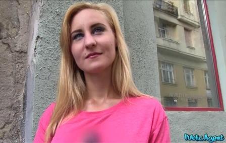 Public Agent Hot blonde babe fucks a stranger in public place