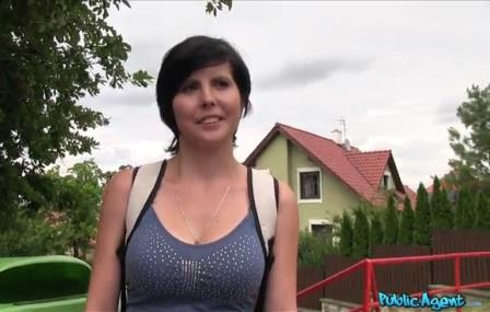 Public Agent Shy 19 year old with big boobs fucked