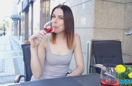 DateSlam Stranger Sex vid with horny Euro babe met online