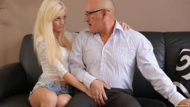 Daddy4K Horny blondie wants to try someone little bit more experienced