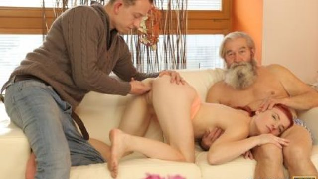 Daddy4K Unexpected experience with an older gentleman