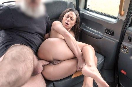 FakeTaxi Anal sex with a French babe