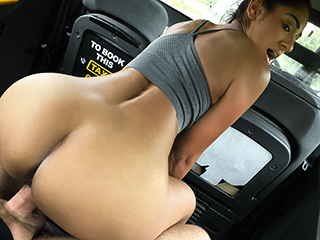FakeTaxi Sahara gets a hard cock workout