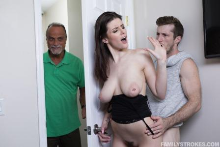 Family Strokes Prankster Penis For Stepsis