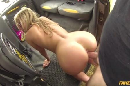 Faketaxi Wild blonde treats him Rough