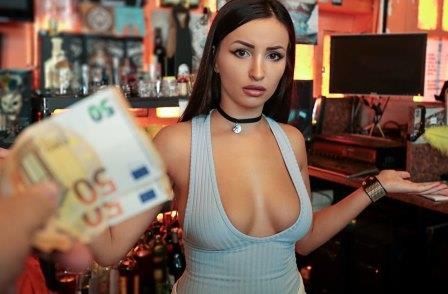 Public Pick Ups Barmaid Gets Laid Again