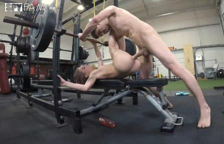 SpyFam Stepsister Rides Stepbro's Dick At Gym