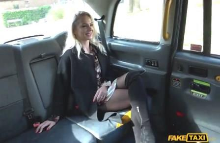 FakeTaxi Polish blonde escort fucked