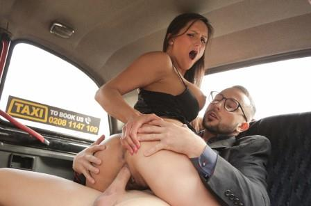 FemaleFakeTaxi Stud gets balls deep in sexy driver