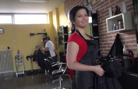 Czech Streets 94 18 yo hairdresser