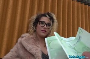 Public Agent Spanish bald pussy fucked