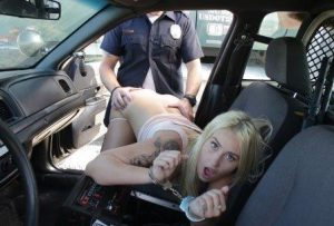 Screw The Cops Layla Love Hijacks The Police Cruiser And Gets Fucked For Being A Bad Girl