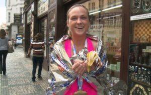 CzechStreets 85 Prague marathon girl