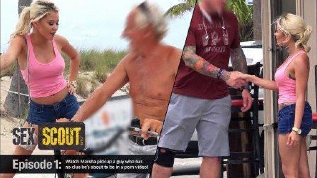 The Sex scout Marsha May Bangs a Random Perv