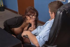 Big Tits at work Red Hot Boss From Hell