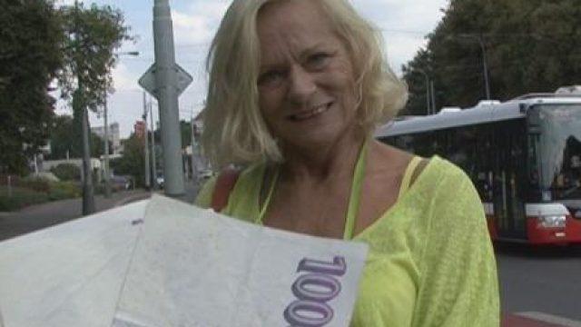Czech Streets 69 Grandmother Jarmila