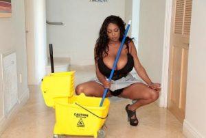 Big Naturals Maid Got Boobs