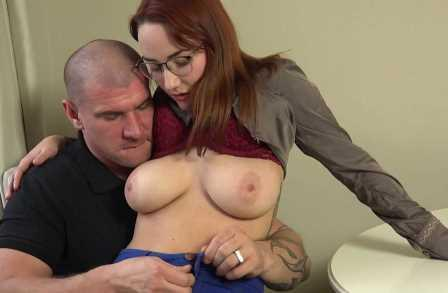 CzechBoobs Busty Redhead Get her pussy pounded