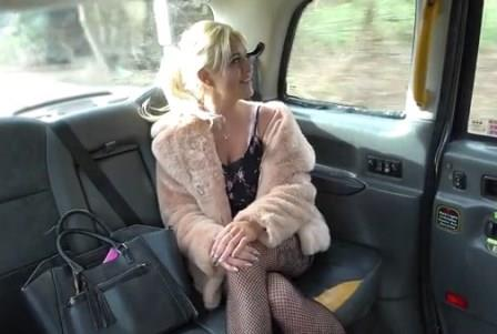 FakeTaxi Ass eating cum swallowing MILF