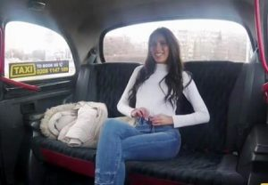 FakeTaxi Hot latina deepthroats and swallows