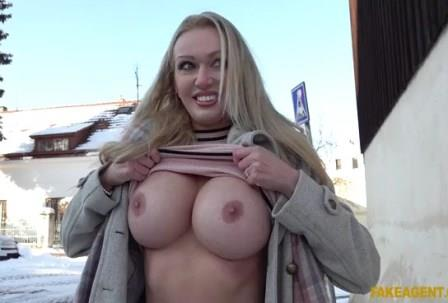 Public Agent Sexy busty cougar housewife fucked