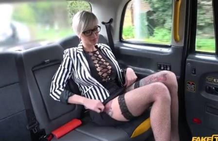 Fake Taxi Tattooed MILF drains cabbies balls