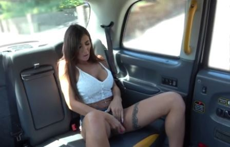 Fake Taxi Big Tits Brunette fucked under the sun