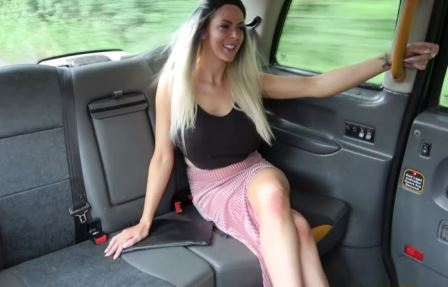 Fake Taxi Jess Scotland and her first black cock