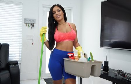 My Dirty Maid Fucking My New Hot Maid
