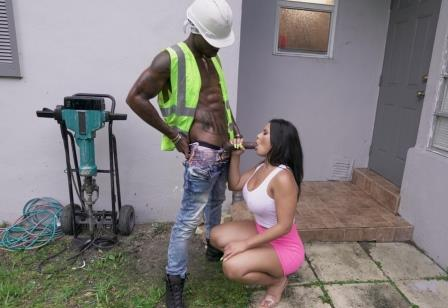 Ass Parade Rose Monroe Bangs Construction Worker