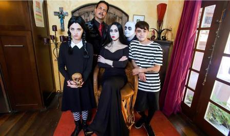 Family Strokes Addams Family Orgy
