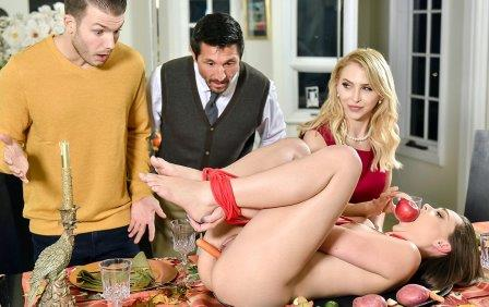 Family Strokes Family Friendly Thanksgiving Fuck Fest