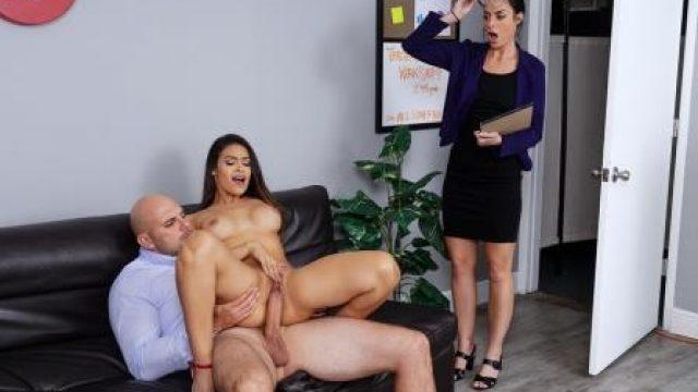 Big Tits at School Teachers Lounge
