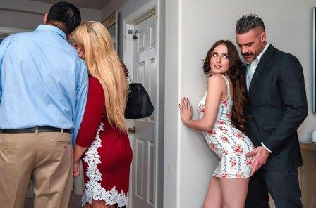 Sneaky Sex Open House For A Slut