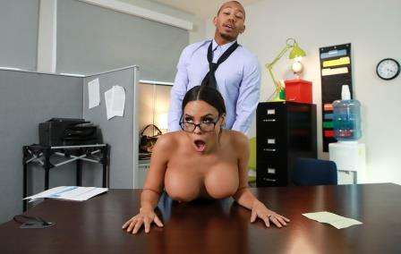 Big Tits at Work My Overly Anal Secretary